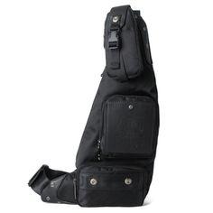 2017 New Men  Chest Bag Waterproof Nylon Travel Riding Cross Body Messenger Shoulder Sling Back Pack
