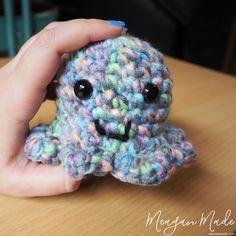Crochet Octopus   MeaganMade.com