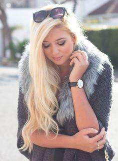 Grey Fur { OOTD } – SUPERFICIALGIRLS