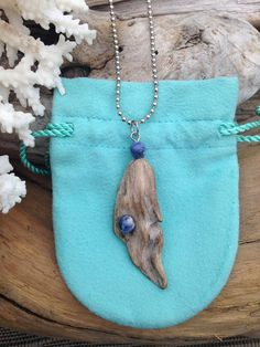 Natural Driftwood Necklace                                                                                                                                                                                 More