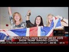 Latest Polls Taken Before BREXIT Vote Show Trump Trailing Clinton - Cavuto   AH News