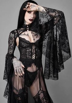 Top Gothic Fashion Tips To Keep You In Style. As trends change, and you age, be willing to alter your style so that you can always look your best. Consistently using good gothic fashion sense can help Goth Beauty, Dark Beauty, Gothic Dress, Gothic Lolita, Goth Outfit, Mujeres Tattoo, Gothic Lingerie, Steampunk Lingerie, Lace Shrug