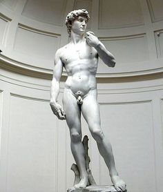 The sublime depiction of the human form. Michelangelo transcended the great classic masters of the past with this flawless sculpture. David ...