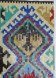 #mosaic Turkish carpet