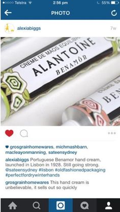 alexiabiggs - Austrália - Julho 2015 Hand Cream, Lisbon, Portugal, Product Launch, Packaging, Wrapping