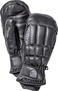 Henrik Leather Pro Model Mitt is made from cowhide with a quilted, retro style pattern on the back of the hand. The glove has a narrow leather cuff, as well as an internal snow cuff made from Lycra.