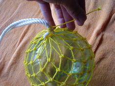 浮き玉の保護網を作ってみよう!