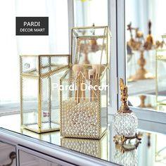 Европейский стиль ретро косметические кисти/карандаши для бровей контейнер Jewellery коробка для хранения Золотой/Серебряный/бронза 1 шт./лот купить на AliExpress