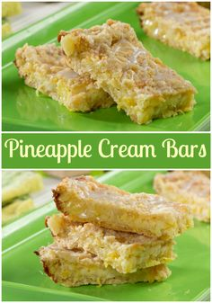 Enjoy a creamier taste of the tropics with our recipe for Pineapple Cream Bars. These dessert bars will whisk you away to an island paradise with just one bite!