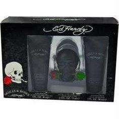 Ed Hardy Skulls & Roses By Christian Audigier Edt Spray 2.5 Oz
