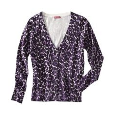Merona® Ultimate V-Neck Cardigan Sweater - Animal Print