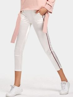 GET $50 NOW   Join Zaful: Get YOUR $50 NOW!https://m.zaful.com/satin-ribbon-trim-skinny-pencil-pants-p_390114.html?seid=2281984zf390114