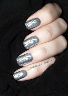 stamping nail art AP11
