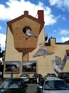 Ma maison, mon nid ! / Street art.