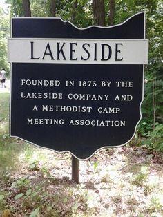 Lakeside, Ohio.
