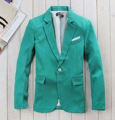 one Button Suit coat