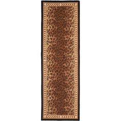 Chelsea Black/Brown 2 ft. 6 in. x 14 ft. Runner