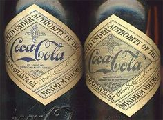Vintage Coca-Cola #packaging #design