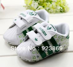 Green floral baby shoes toddler shoes soft bottom shoes 1086 baby  free shipping-in First Walkers from Shoes on Aliexpress.com $7.17