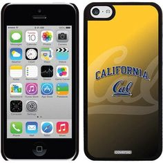 UC Berkeley Cal Watermark Yellow Design on iPhone 5c Thinshield Snap-On Case by Coveroo