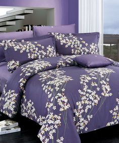 Love this North Home Freesia Duvet Cover Set by Wonder Home Fashion Ltd. on #zulily! #zulilyfinds