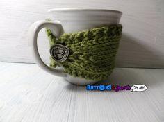Coffee Mug Cozies with Vegan yarn! $8.00