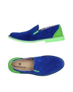 PAOLO DA PONTE Men's Loafer Bright blue 8 US