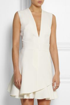Victoria Beckham silk and wool-blend mini dress, $2,165 on Net-A-Porter