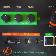 Kay Memory Rhythm Machine - not seen one of these before...