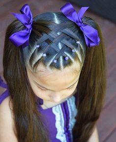 Easy Toddler Hairstyles, Easy Little Girl Hairstyles, Girls Hairdos, Cute Little Girl Hairstyles, Cute Girls Hairstyles, Princess Hairstyles, Braided Hairstyles, Toddler Hair Dos, Hairstyles For Toddlers