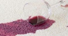 Cómo eliminar manchas de vino en la gamuza