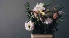 Preview wallpaper flowers, bouquet, vase, composition 3840x2160