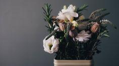 Preview wallpaper flowers, bouquet, vase, composition 3840x2160