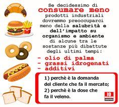 Consumare meno prodotti industriali e cucinare di più!
