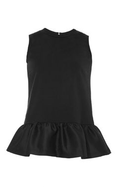 Shop Averil Peplum Top by Mother of Pearl Now Available on Moda Operandi