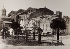 Terme di Diocleziano 1870/1880 Rome, History, Antiques, City, Painting, Costume, Memories, Fantasy City, Cities