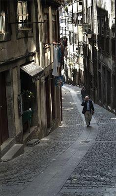 Rua dos Mercadores -Ribeira- Porto-Portugal
