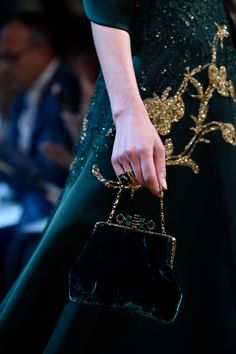ELIE SAAB Haute Couture Autumn Winter 2017-18 | Couture Bags