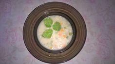 Healthy veggie oats porridge