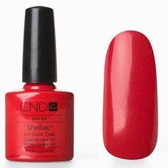 CND Shellac Nail Polish, Wildfire