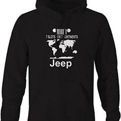 Jeep Wrangler 7 Slots for 7 Continents Sweatshirt