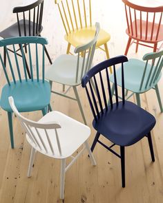 colorful wooden kitchen chairs stacking ikea unexpected guests nathiya prathnadi sfgirlbybay blogs tucker chair wood design dining rooms