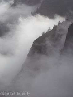 Granite and Mist (Yosemite National Park)