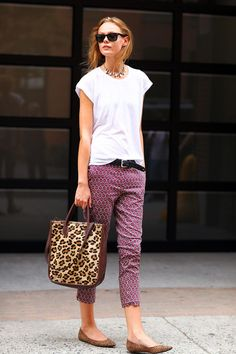 Home and Delicious: style: patterned trousers