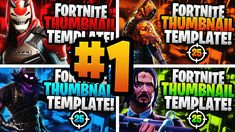 A Premium Fortnite YouTube Thumbnail Template Pack for Photoshop. Designed with in-game characters.   7 premade colour options 19 Character Renders Easy to edit text  You can ONLY edit the pack in PHOTOSHOP (Created in PS CC 2019, not guaranteed to work in older versions).   File Size: 44.1MB Product Resolution Size - 1280x720  #Fortnite #YouTube #Thumbnail #Template #Pack #Photoshop #Graphics #Design #Premade #Gaming Youtube Thumbnail Template, Youtube Banner Template, Fortnite Thumbnail, Youtube Banners, Edit Text, You Youtube, Text You, Still Image, Game Character