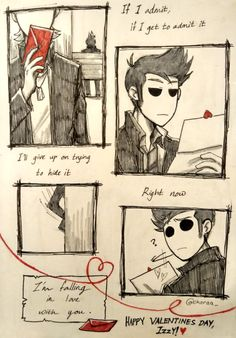 Hay guys so i know i pin a lot of tom x tord stuff but the truth is is that i really only like the fan art, caus enaturally i sincerly dont ship anyone in edds world i understand that they are just friends and im fine with really them all being just friends, so yah with that stated out there is is some more awsome fan art