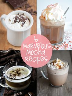 6 mocha recipes to warm your heart and soul | creative gift ideas & news at catching fireflies