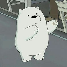 We bare bears Ice Bear We Bare Bears, We Bear, Bear Cartoon, Cartoon Icons, Bear Meme, We Bare Bears Wallpapers, Cartoon Profile Pictures, Bear Wallpaper, Cute Memes