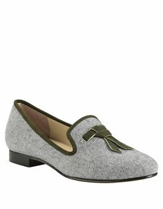 Shoes | Loafers & Oxfords | Sabrina Flannel & Suede Loafers | Lord and Taylor
