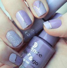 Purple polish!